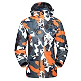 Best Outdoor Products Backpacking Rain Jackets - Zhhlaixing Outdoor Women's Softshell Fleece Camouflage Jacket Windproof Review