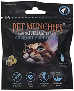 Pet Munchies Gourmet Fish Fillet Cat Treats, 10 g