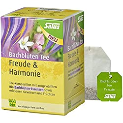 Salus Bachblüten Tee Freude & Harmonie BIO, 15 Filterbeutel