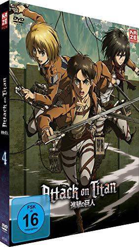 Attack on Titan - DVD 4 - LE (Aufnäher)