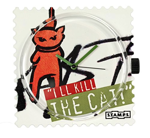 S.T.A.M.P.S.-Uhr Zifferblatt I´ll kill The Cat 0811058
