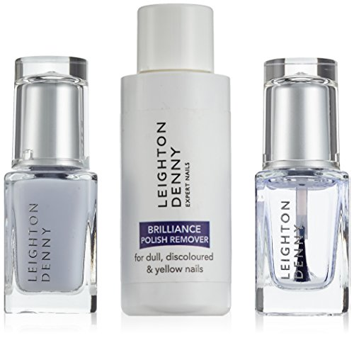 Leighton Denny Brilliance Nail Treatment Regime Kit Brilliance Shield und Serum, 1er...
