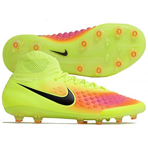 Nike Magista Orden II AG-Pro, Botas de Fútbol para Hombre, Amarillo (Volt / Black-Total Orange-Pink Blast), 44