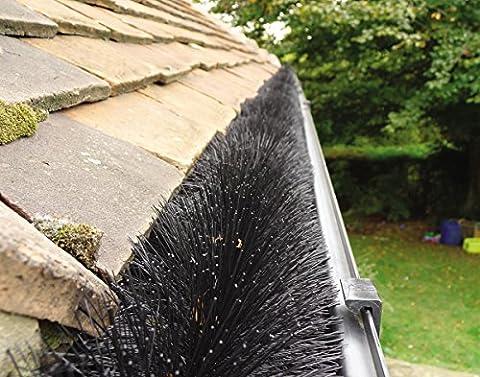 Protège gouttière Hedgehog Noir 4m (1 X 4m)