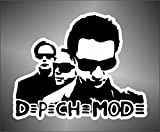 Aufkleber - Sticker Depeche Mode hip hop jazz hard rock metal sticker