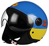 BHR BHR 64414Helmet demi-jet One 801, Tom and Jerry, Size L (59cm), Multicoloured, Size L