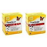 FreeStyle Lite Testing Strips 2x50 Brand New Sealed