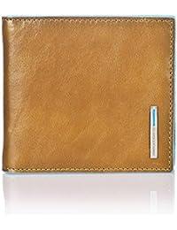 519a82d891 Portafoglio Piquadro Blue Square sabbia con molla per banconote PU1666B2/SA