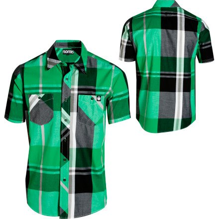 Nomis Herren T-Shirt Big Time Plaid  , emerald green big plaid, M, 120036046 Preisvergleich