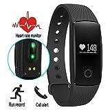 Three-T Fitness Activity Tracker Smart bluetooth Handgelenk Schrittzähler Armband Sport Analyse Armbanduhr für Android und IOS Armband