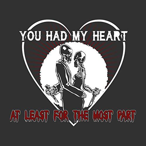 Avenged Sevenfold You Had My Heart Women's Hooded Sweatshirt Charcoal