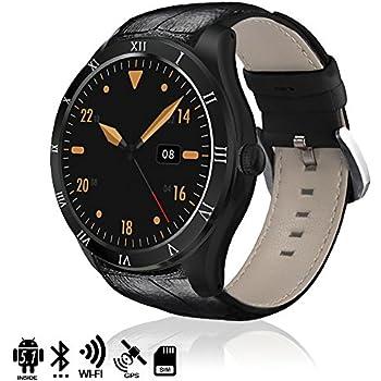 TEKKIWEAR. DMX119BK. Smartwatch Phone Q5 Dual Core con Sistema Operativo Android 5.1, GPS Y Wi-Fi. Memoria Interna 4Gb. Pantalla Alta Resolución. Negro