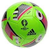 adidas UEFA EURO 2016 Glider Replica Football Ball 14 Panel Playing Sports Solar Green Size 5