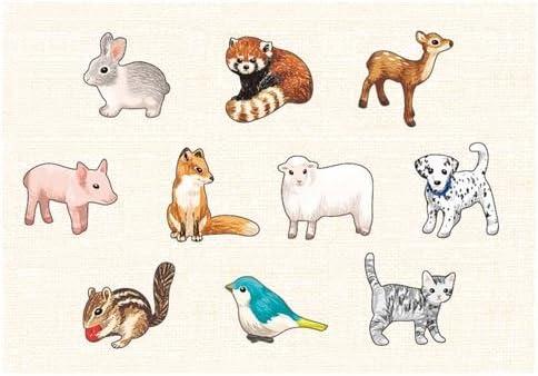 Sachet d'autocollants avec avec avec des dessins d'animaux multicolores par Mind Wave B01DU3JNLU 41c3d5