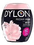 Dylon Teinture Textile pour Machine à Laver, Rose Pivoine, 8.5 x 8.5 x 9.9 cm