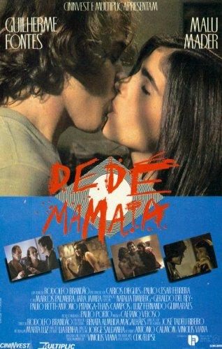 Dedé Mamata Plakat Movie Poster (27 x 40 Inches - 69cm x 102cm) (1988) Brazilian
