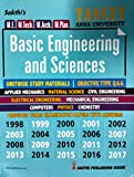TANCET Anna University BASIC ENGINEERING AND SCIENCES Exam Guide for M.E. M.Tech. M.Arch. M.Plan. With Objective Type Q & A and Previous Years Solved Papers from 1998 to 2017. 20 question papers solved with answers. Contains Unitwise Study Materi...