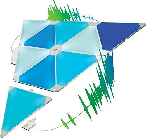 nanoleaf Light Panels (Aurora) Rhythm Musik & Sound Nachrüstmodul [Plug and Play | Faszinierende Effekte | Mikrofon & 3,5mm Klinkenanschluss] - 9