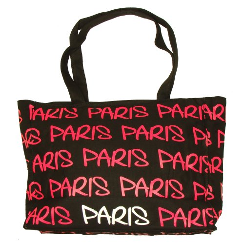 Robin Ruth - Sac Shopping Paris Robin Ruth - Couleur : Noir