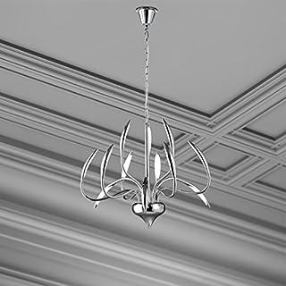 VAL3W53261215/2016 LED Pendant lamp Chrome Interior Lighting Living Room Studio by Valastro Lighting VAL3W53261215/2016
