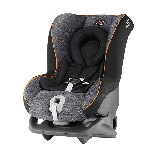 Britax Römer FIRST CLASS PLUS Group 0+/1 (Birth-18kg) Car Seat - Black Marble  This FIRST CLASS PLUS will come in a Black Marble design cover which is made from a more premium fabric with extra detailing Extended recline position when rearward facing - the safest way to travel Reassurance built-in - CLICK & SAFE harness tensioning confirmation 1