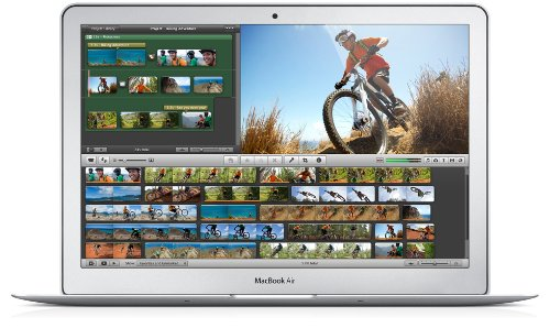 Apple Macbook Air MD760HN/A Laptop (Mac, 4GB RAM, 128GB HDD) Silver Price in India