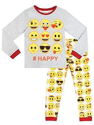 Emoji Girls Emoji Pyjamas Ages 5 to 14 Years
