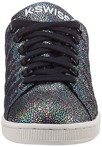 K-Swiss 95399, Scarpe da Ginnastica Basse Donna Nero (BLACK/MOONBEAM)