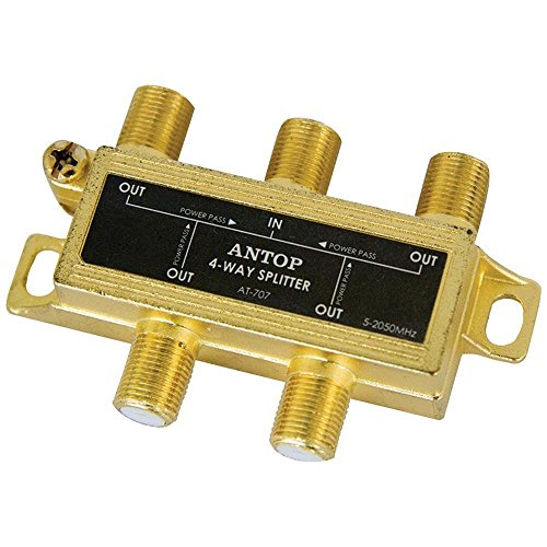 antop Antenne INC at-7074-Wege-2GHz verlustarme Koaxial Splitter (2-ghz-splitter)