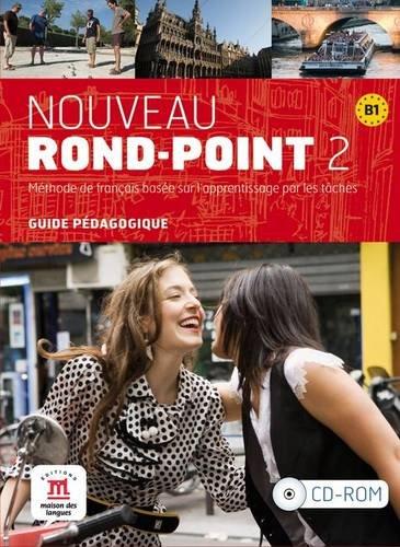 Nouveau Rond-Point 2 - Guide du professeur CD-ROM (Fle- Texto Frances)