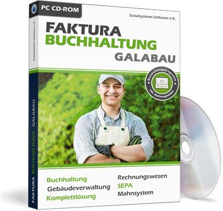 Faktura Buchhaltung GaLaBau Software mit Rechnungswesen