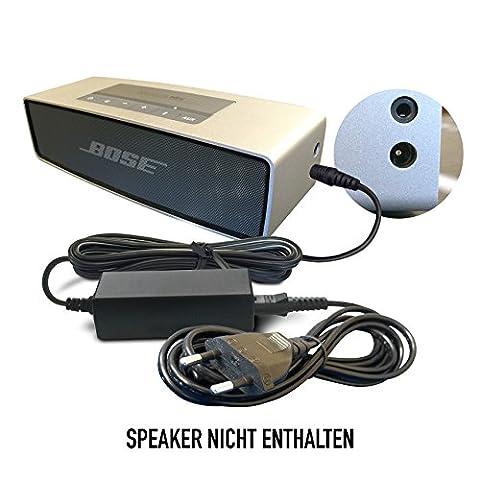 ABC Products® Ersatz Bose Akku Ladegerät, Netzteil, Netzadapter, Netzanschluss DC 12V, 12 Volt, PS71, PS51, PS72, PS73, PS74, PS77, JOD-48U-08A, PT 263027 für Companion 2 (Series II and III) Multimedia Speaker System, Lifestyle 12, 20, 25, 40 Music System Center, SoundLink MINI, SoundDock XT Bluetooth Lautsprecher / Speaker etc