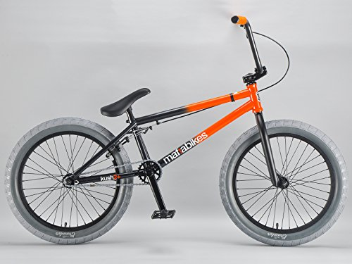 Mafiabikes Kush 2+ 20 inch BMX Bike ORANGE FLASH