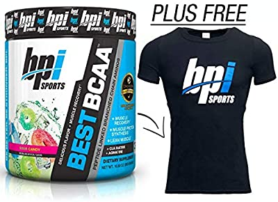 Bpi Sports Best Bcaa Sour Candy with Free Gift T-Shirt by Bpi Sports