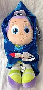 Authentique Magasin Disney Originale - Buzz l'Eclair / Buzz Lightyear en peluche avec couverture - 33cm