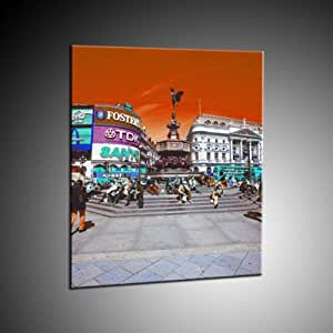 Piccadilly Circus à Londres Imprimer in 70x90 cm