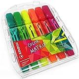 Stabilo Swing Cool–Rotulador fluorescente de matriz de color verde, luz verde, rosa, rojo, naranja, amarillo–Cartera de 6–275/6–07
