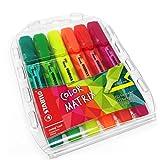 Stabilo Couleur Matrix Swing Cool Surligneur–Vert, Vert clair, Rose, Rouge, Orange, Jaune–Portefeuille de 6–275/6–07