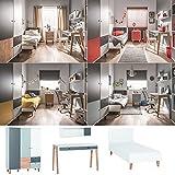 Jugendzimmer Kinderzimmer komplett COLIN Set E Schrank 3-tür. Schreibtisch Bett 120x200 Wandregal 4 Farben neu