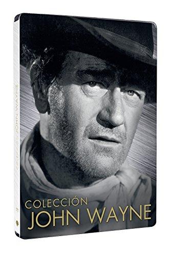 John Wayne: Río Bravo, Boinas Verdes, Centauros Del Desierto, Ladrones De Trenes - Pack 4 Discos Steelbook [DVD]