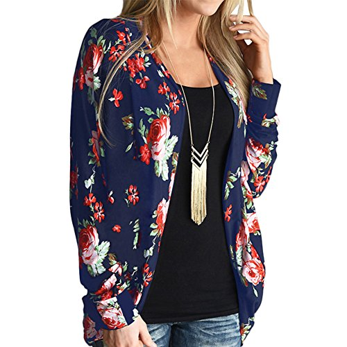 Lover-Beauty -  Cardigan  - Donna Blue Floral