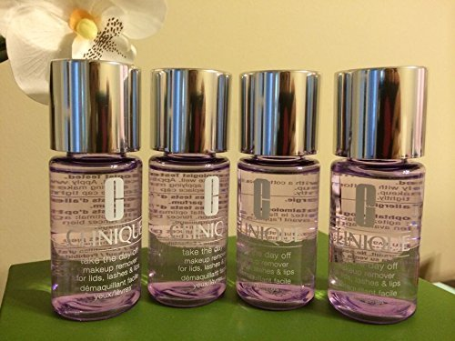 Lot of 4 Clinique Take the Day Off Makeup Remover for Lids,...