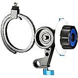Neewer® Follow Focus avec 15mm Shank Clamp Simple, Ceinture Anneau de vitesse réglable pour DSLR Camera / DV / caméscope / Film / Vidéo, convient Supports épaule, Stabilizers, Plates-formes Film