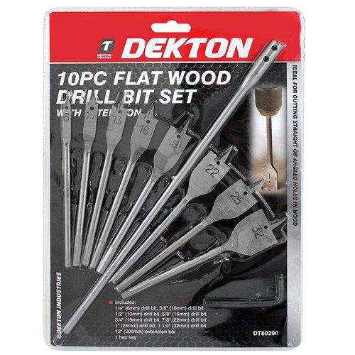 Dekton Dt8029010pc Plat bois forets 6-10-13-16-20-22-1 Argent