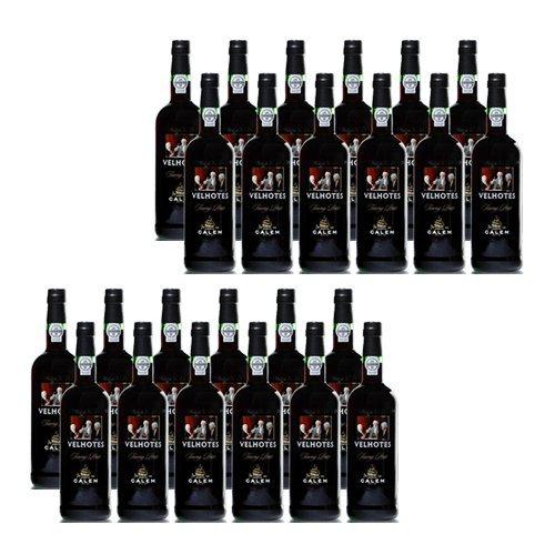 Portwein Calem Velhotes Tawny - Dessertwein- 24 Flaschen