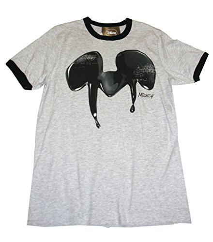Disney Micky Maus Vintage Herren T-shirt - graumelange - XL - Herren Disney Vintage Micky Maus