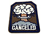 annullato Fallout Iron On Sew on Cosplay patch ricamato