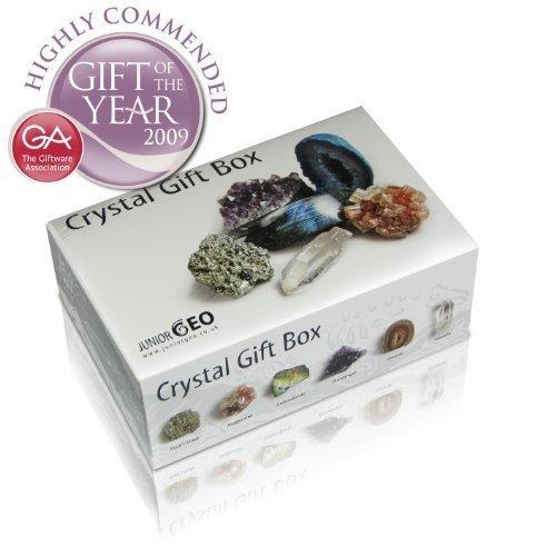 Junior geo crystal gift box