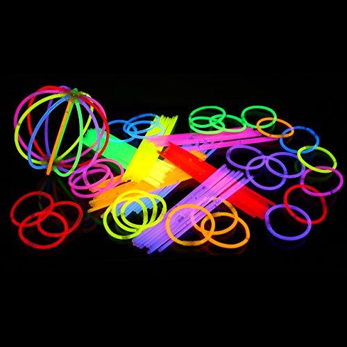 Knicklichter in 7 Farben - 100 Stück