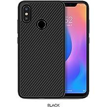 Nillkin Funda Xiaomi Mi 8, Funda ultradelgado y Ligero Estupendo Protector de Fibra de Carbono